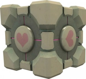 GLaDOS Companion Cube